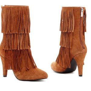 Catherine Malandrino Shoes - LAST CHANCE‼️Catherine Malandrino Fringe Boots
