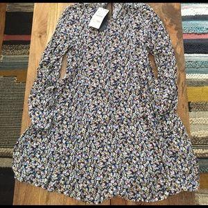 Zara Dresses & Skirts - NWT Zara Floral Print Long Sleeve Mini Dress
