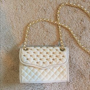 Quilted Studded Rebecca Minkoff Crossbody Bag