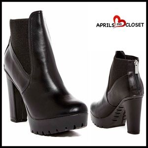 Breckelles Shoes - ❗1-HOUR SALE❗Platform High Heeled Boots