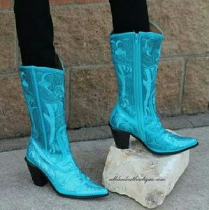 Volatile Shoes - Helens Heart Turquoise