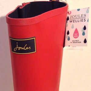 """Joules Shoes - NWT Joules Red """"Fieldwelly"""" Wellies Sz8"""