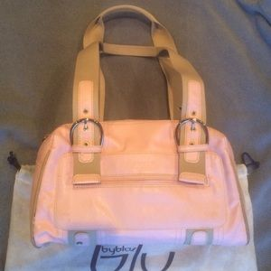 Byblos Handbags - Byblos Pink Shoulder Bag