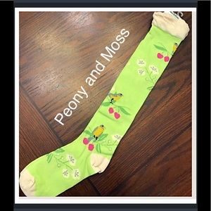Peony and Moss Accessories - Peony & Moss Knee Highs in Branches