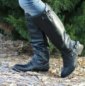 Breckelle's Outlaw Black Riding Boots