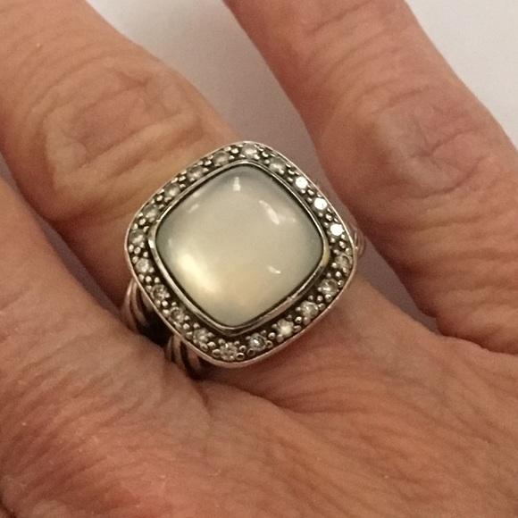 98dcd223f04fd David Yurman 11mm Moonlight Ice Albion Ring