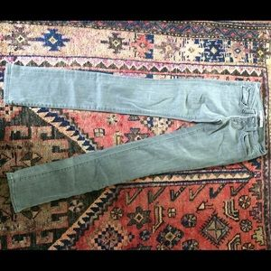 J Brand #912 pencil Leg low rise skinny jeans