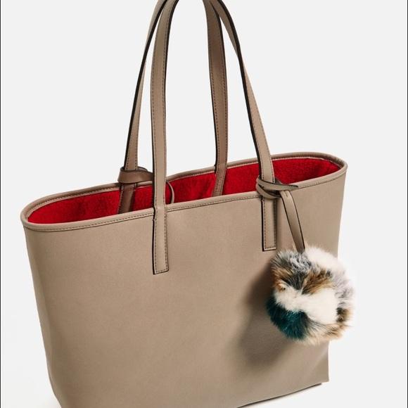 a59a7c9eb028 Zara reversible tote bag. M 589267cbbcd4a714890020e5