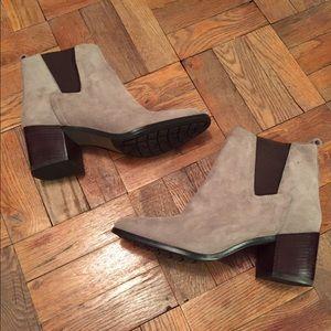 Pour la Victoire Shoes - Pour La Victoire women's ash suede boots size 9.5