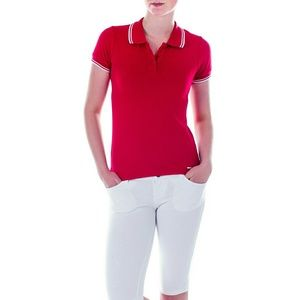 Mia Mia Junior Girl Polo Shirt, PK13102, Red