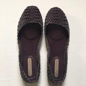 Melissa Shoes - Melissa Campana - purple glitter shoes