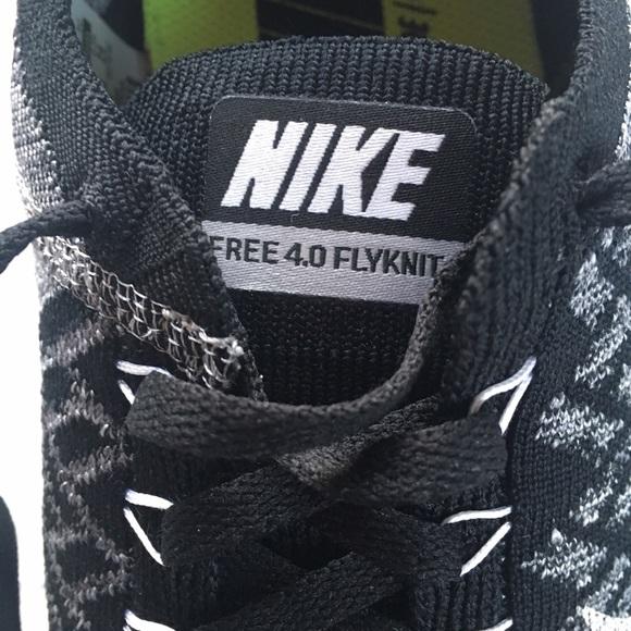 Nike Free Run 4.0 Flyknit Oreo YF4b600