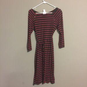 ⛔️FINAL PRICE⛔️ Motherhood stripes maternity dress