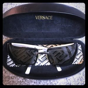 Versace sunglasses in White