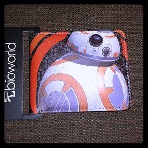 Bioworld Other - Star Wars The Force Awakens: BB-8 Bifold Wallet