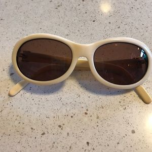 Cartier Accessories - CARTIER SUNGLASSES 😎-VINTAGE- ivory with/gold