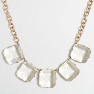 J. Crew Factory Jewelry - Crystal cube necklace