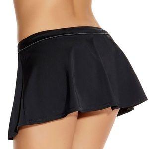 [kenneth cole] • [skirted bikini bottoms]