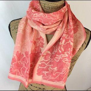 Banana Republic - Pink silk scarf