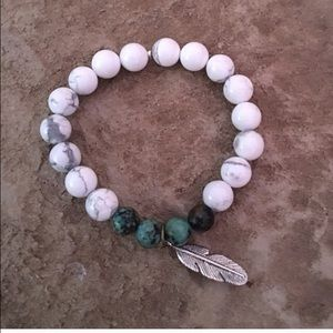 Boho Gypsy Sisters Jewelry - Last One! HP ❤️ White Turquoise Boho Bracelet