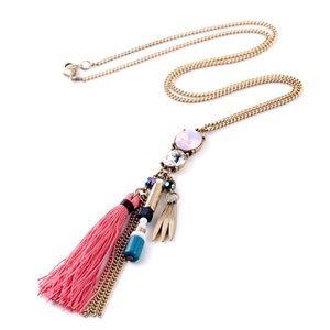 Jewelry - Long tassel pendant necklace