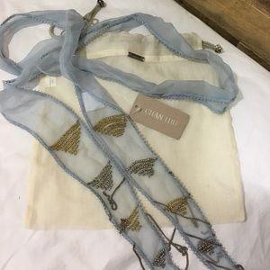 Chan Luu Accessories - 💕 Sale! Chan Luu Beaded Skinny Scarf NWT