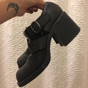 Jeffrey Campbell Shoes - Vintage Cutout Buckle Booties