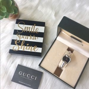 Gucci Accessories - ✅4xHP✅💯% Authentic Gucci Stainless steel Watch