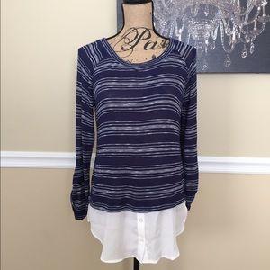 Mine Too Sweaters - Layered Sweater