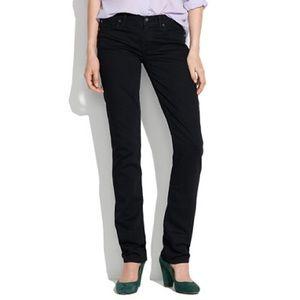 Madewell Denim - Madewell Black Rail Straight Leg Jeans, size 26