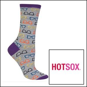 Hot Sox Accessories - Hot sox, nwt, glasses socks, womens