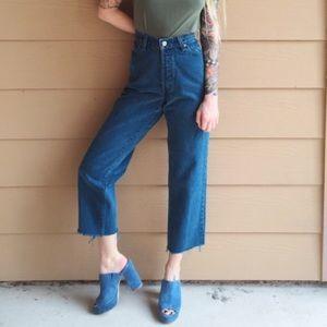 Vintage Levis 501 High Waisted Boyfriend Jeans