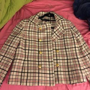 Jones New York Tartan Jacket