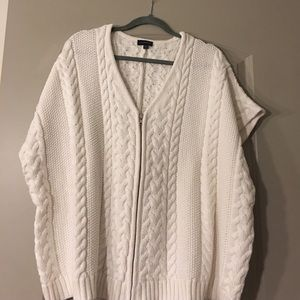 Poncho sweater from The Limited!