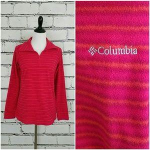 Columbia Tops - Columbia Striped Fleece Pullover!