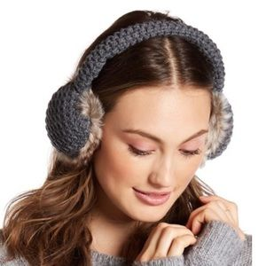 Collection XIIX Other - COLLECTION XIIX - Waffle Knit Fur Earmuff