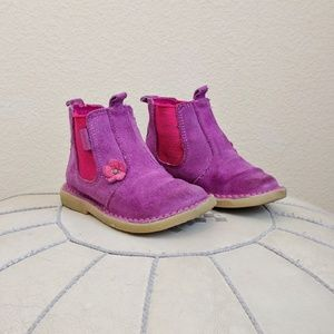 Walkmates Other - 🎉HP🎉 Purple Suede Walkmates Toddler Boots Sz 6