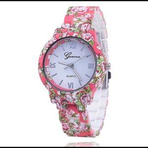 Geneva Accessories - 🌺SALE🌺 Women's Floral Geneva Watch