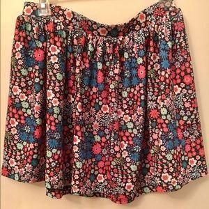 NWT Asos floral skirt