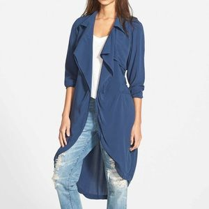 NATIVE YOUTH Jackets & Blazers - Draped Belted Trench
