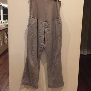 Liz Lange Maternity Khakis- size XL