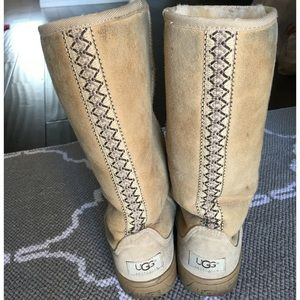 UGG-Authentic Tall Boots-Size 6