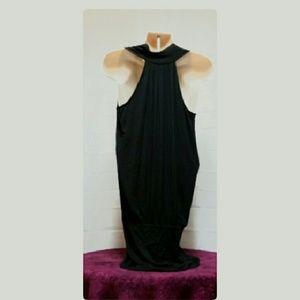 BCBGMaxAzria Dresses - BCBGmaxazria Drapey Micro-mini Dress Size S