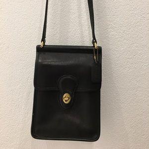 Coach Handbags - Vintage Coach Legacy Black Crossbody Bag