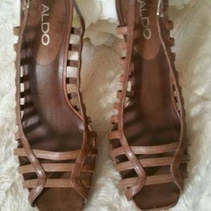 Aldo Shoes - ALDO PLATFORM GENTLY USED HEELS!