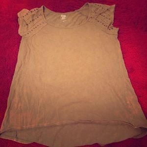 Route 66 Tops - Army green top