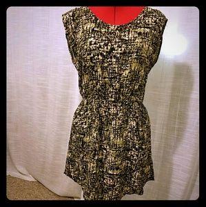 Dresses & Skirts - Cap sleeve print dress