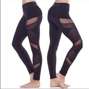 lululemon athletica Pants - 1 DAY SALE 👑NWT🎉 Electric Yoga Sexy Mesh Pants!