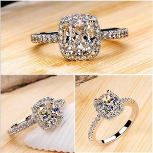  3 Carat Ring Faux Diamond 