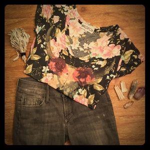 Black Orchid Denim - Black Orchid flare jeans 25